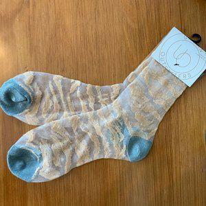 Urban Outfitters Sheer Socks